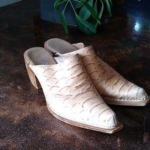 MIA Leather Mule